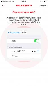 CBox détection du Wifi
