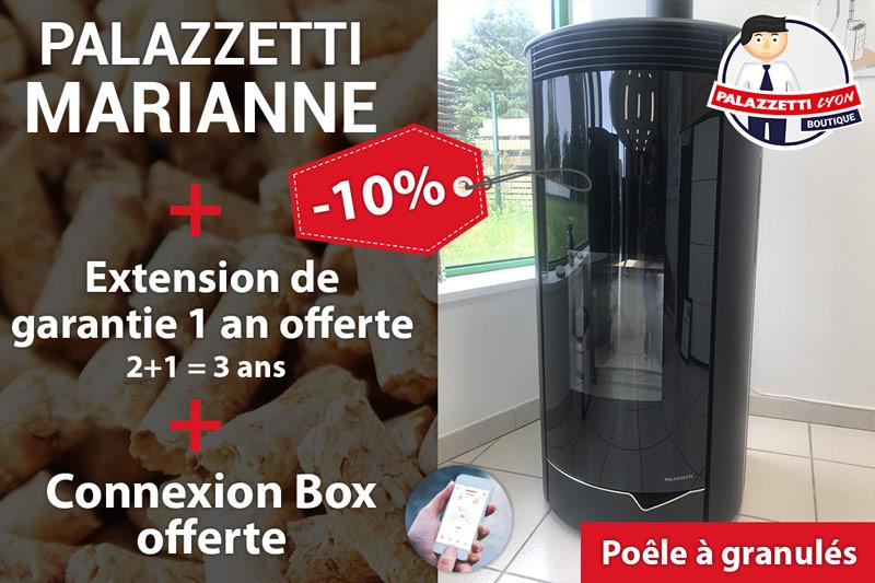 Palazzetti Marianne offre -10%
